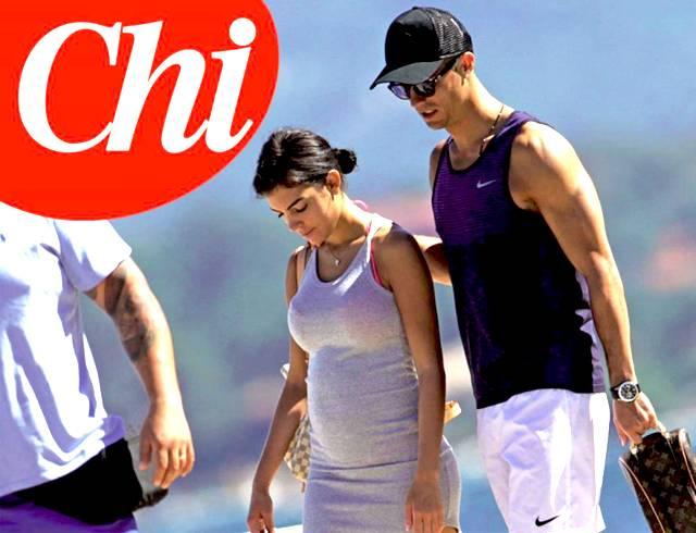 Cristiano Ronaldo aspetta due gemelli dalla fidanzata Georgina Rodriguez