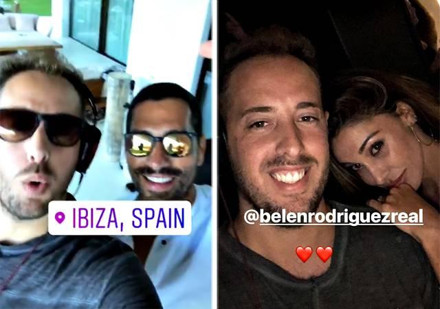 Gossip: Belen Rodriguez fa festa con Borriello quando il fidanzato non c'è