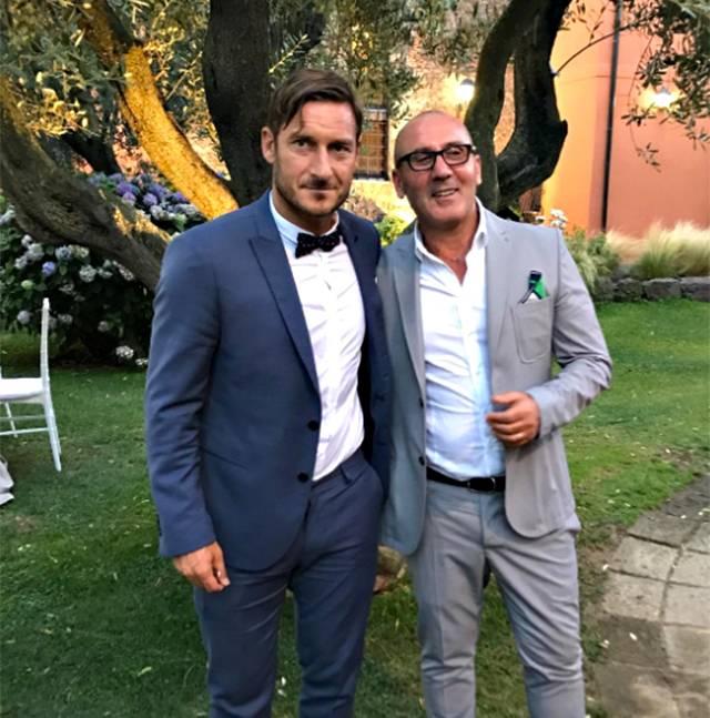 Melory Blasi si sposa: Totti e Ilary al matrimonio
