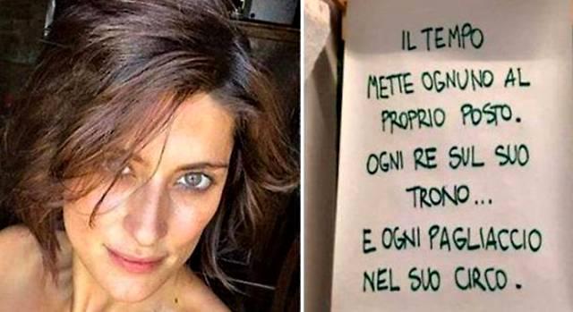 Elisa Isoardi rompe il silenzio: