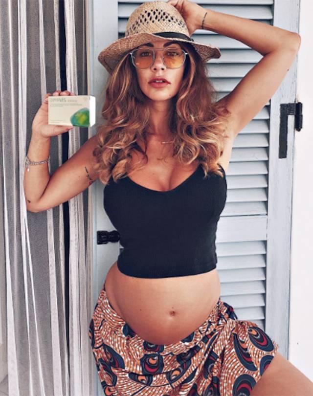 Melita Toniolo Incinta Pancione Di Quasi 6 Mesi Gossip It