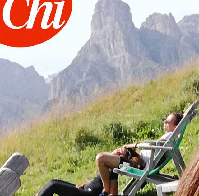 Massimiliano Allegri e Ambra Angiolini: week end d'amore in Trentino FOTO Chi