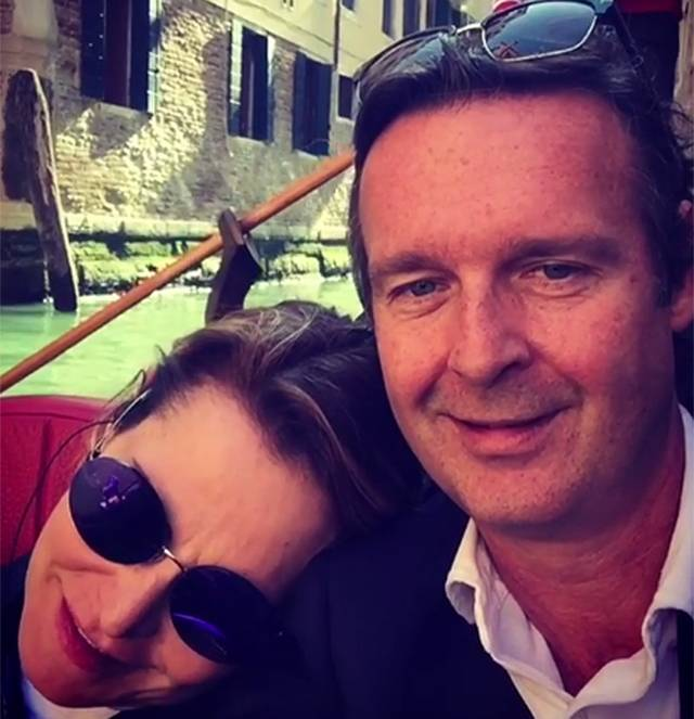 Simona Ventura in crisi con Gerò Carraro: