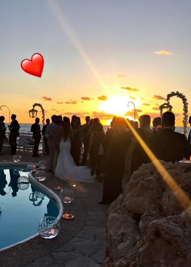 Auguri Matrimonio Sorella : Donatella buccino nozze a capri con nico guido la