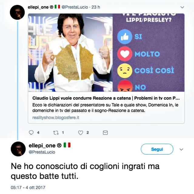 Claudio Lippi contro Paolo Bonolis e Paola Perego: scoppia la polemica