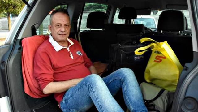 Marco Della Noce è stato rovinato dalla separazione e vive in auto
