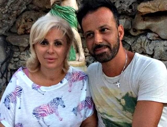 Chicco insieme alla moglie Tina Cipollari