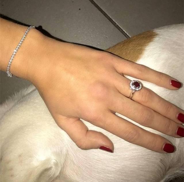 migliore online bello design promozione speciale Cecilia Rodriguez: l'anello è un regalo di Belen - Gossip.it