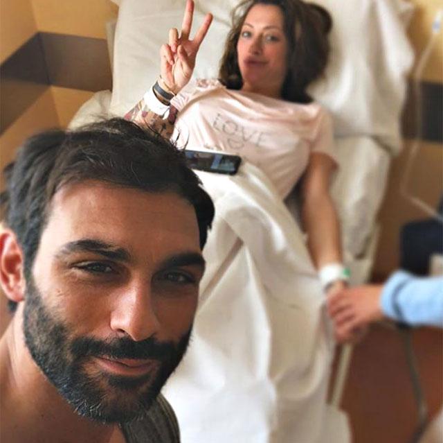 Francesco Arca e Irene Capuano genitori bis