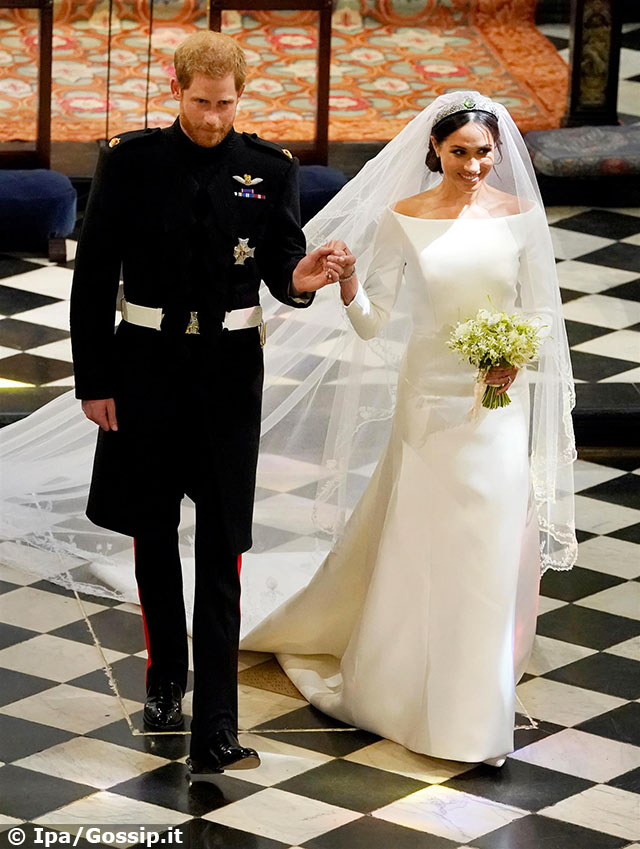 Matrimonio Harry In Chiesa : Il principe harry e meghan markle sono marito e moglie gossip.it