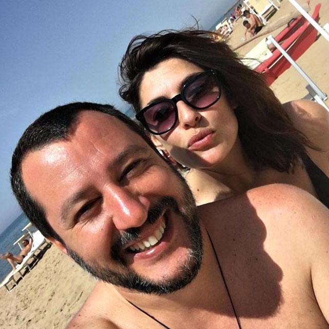 Elisa Isoardi | Matteo Salvini | Dedica | Instagram