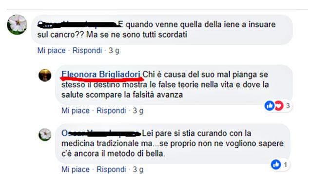 Risultati immagini per eleonora brigliadori facebook