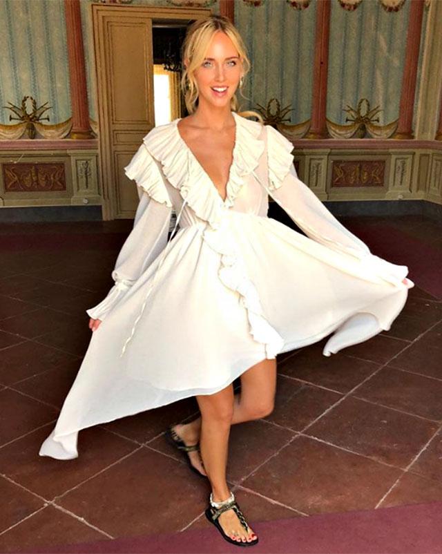 6ceb7d465d62 Le damigelle di Chiara Ferragni alle nozze avranno abiti firmati Alberta  Ferretti