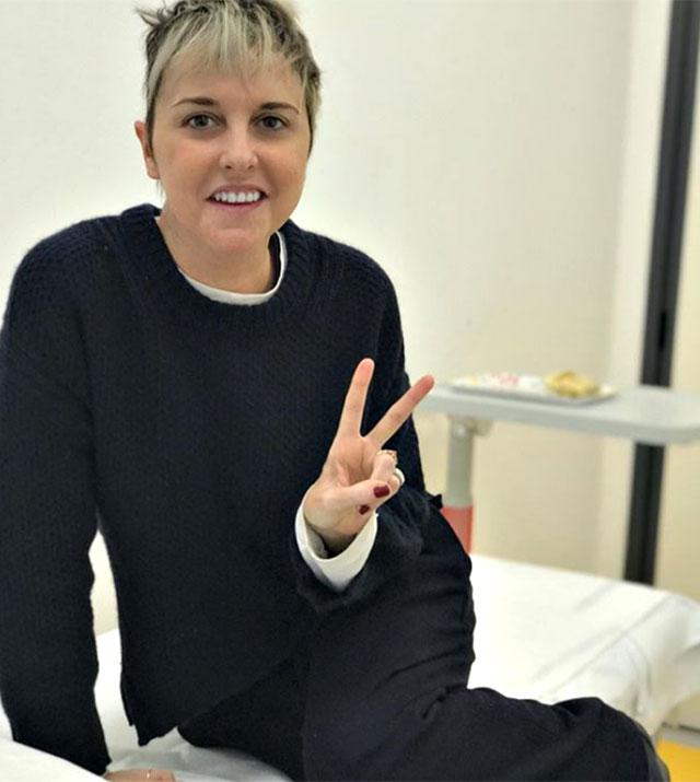Nadia Toffa riprende la chemio, Elena Santarelli la incoraggia