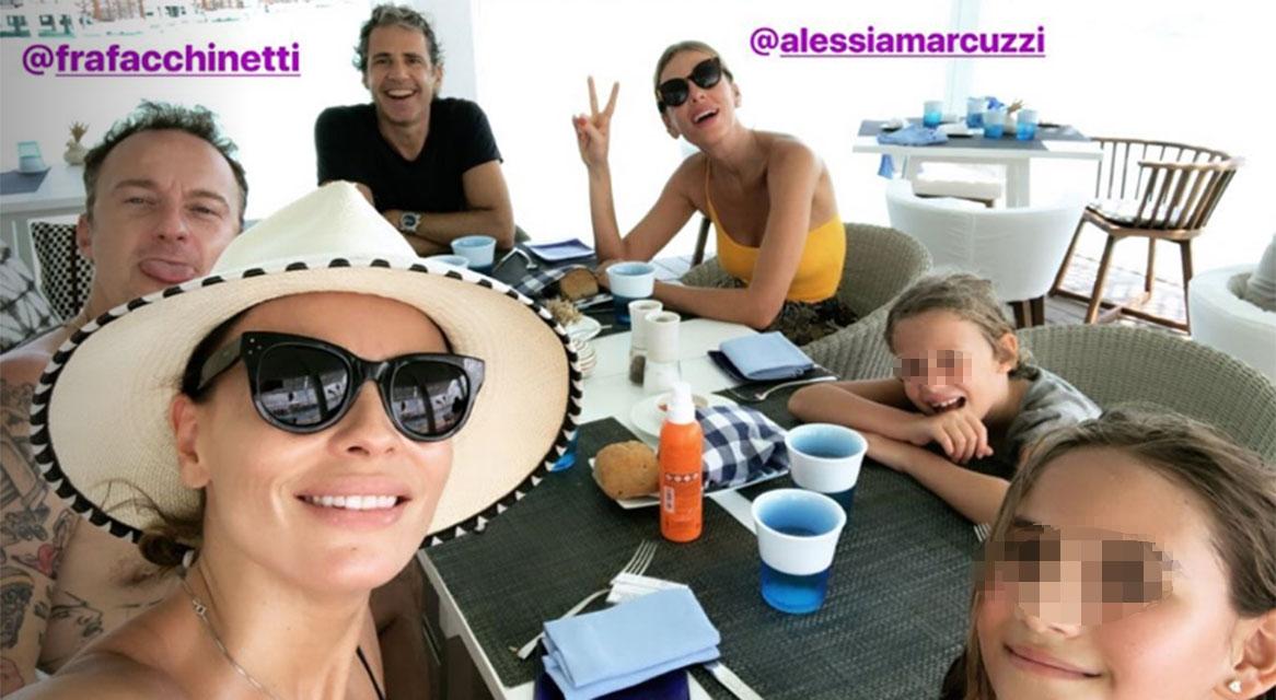 Natale 2018, Alessia Marcuzzi e Francesco Facchinetti alle Maldive insieme
