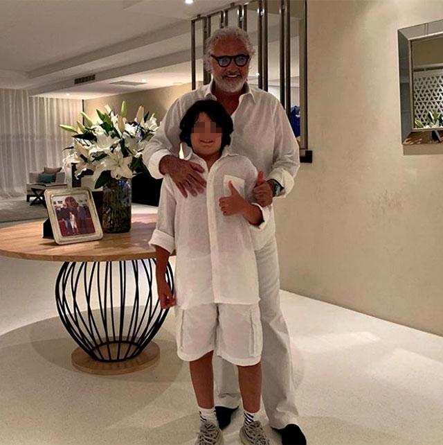 Flavio Briatore sul futuro del figlio:
