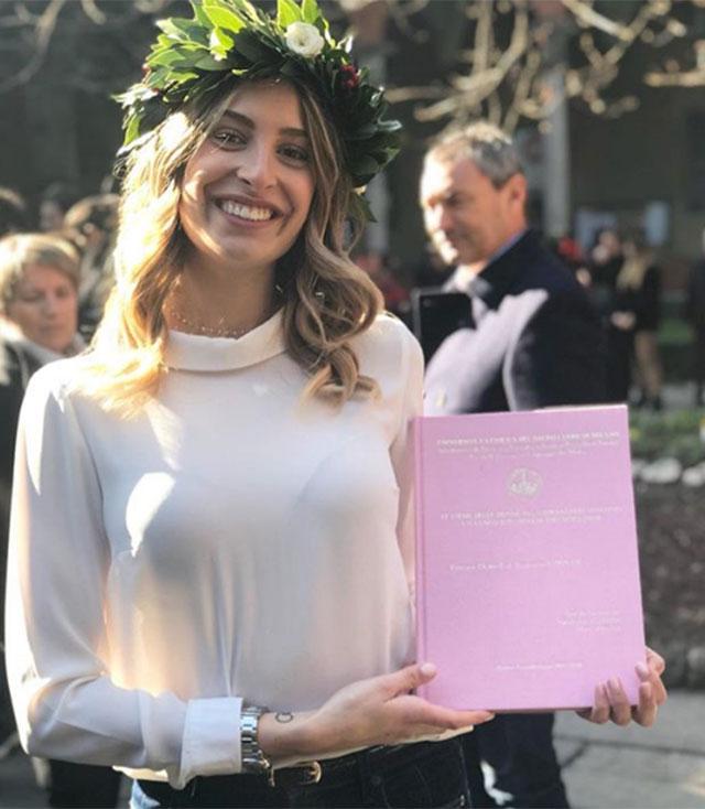 Valentina allegri finita con piero barone laurea e for Piero della valentina