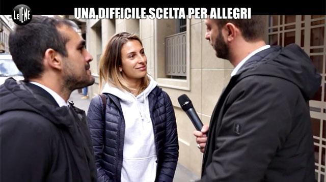 Valentina allegri a le iene 39 con barone finita per i for Piero della valentina