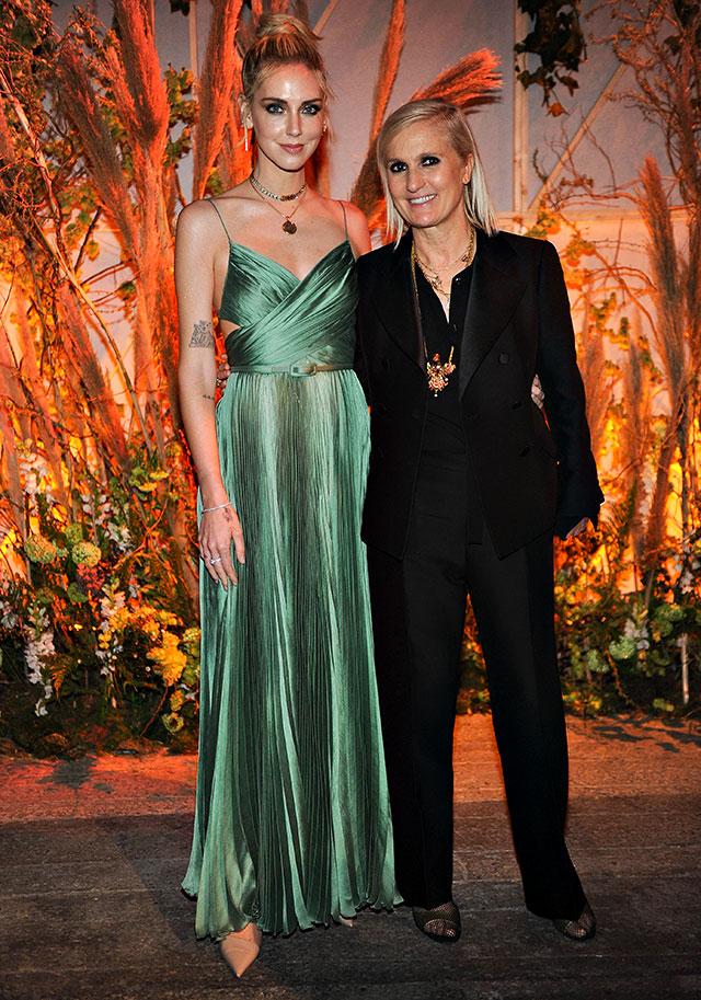 Chiara Ferragni e Maria Grazia Chiuri