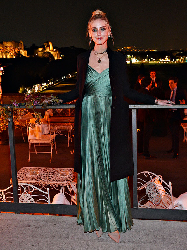 Chiara Ferragni a Roma
