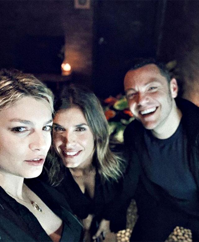 Emma Marrone, Elisabetta Canalis e Tiziano Ferro