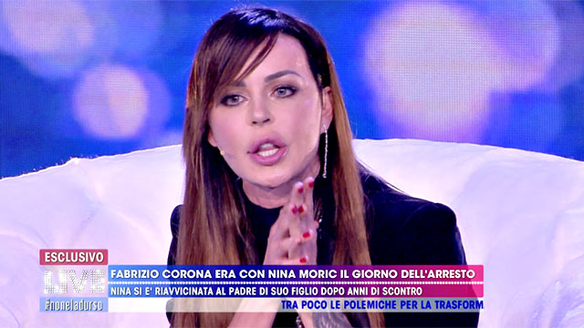 Nina Moric a Live - Non è la D'Urso