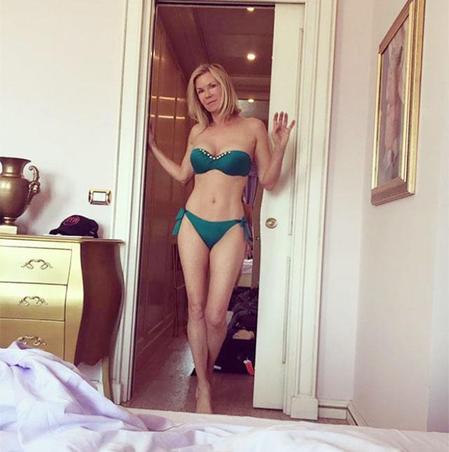 Katherine kelly lang blue bikini