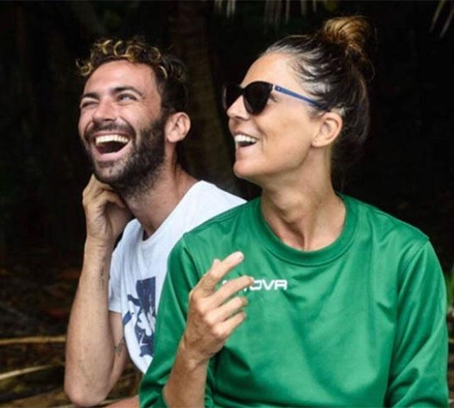 Marina La Rosa e Luca Vismara