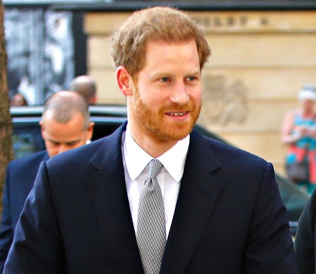 Il Principe Harry la settimana prossima sarà a Roma