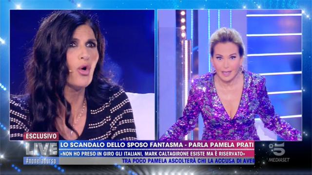 Pamela Prati si scontra con Barbara D'Urso