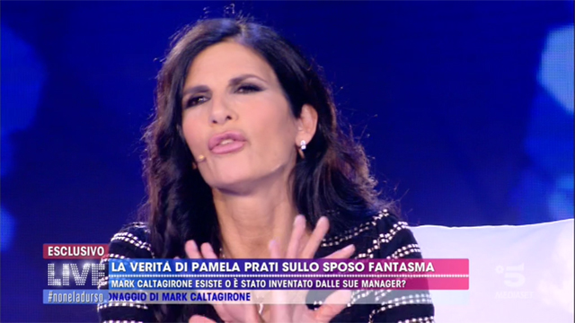 Pamela Prati dice di non voler essere 'interrogata'
