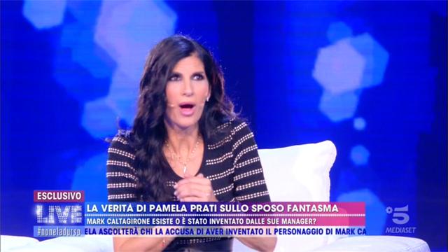 Pamela Prati si altera