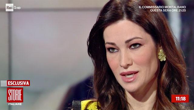 Manuela Arcuri torna a parlare della vicenda a Storie Italiane