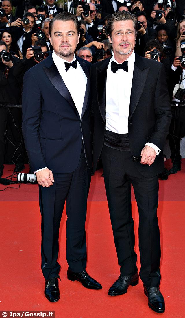 Brad Pitt e Leonardo DiCaprio insieme a Cannes 2019