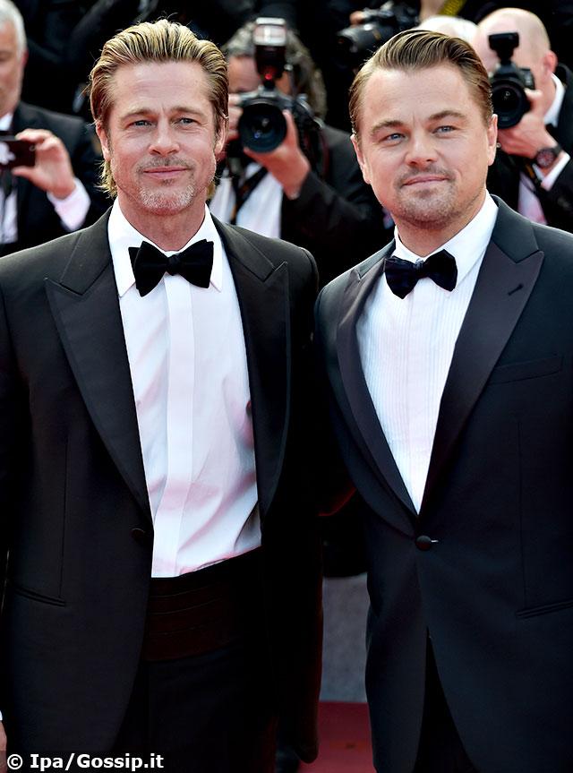 Brad Pitt e Leonardo DiCaprio hanno mandato tutti in visibilio sul red carpet di Cannes 2019