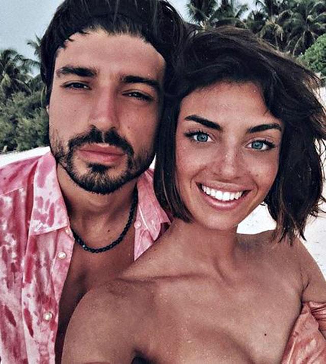 Nicole Mazzocato e Fabio Colloricchio ai tempi della loro relazione