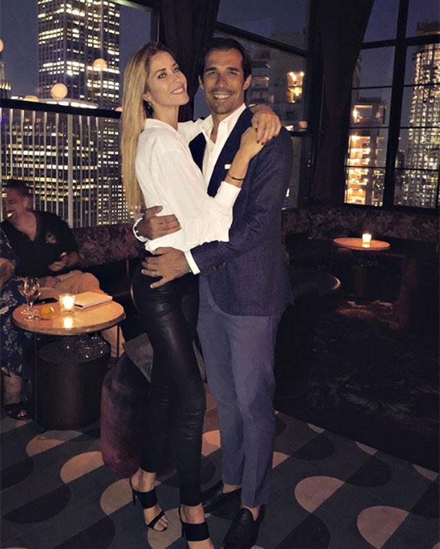 Anniversario Matrimonio A New York.Elena Santarelli E Bernardo Corradi Festeggiano 5 Anni Di