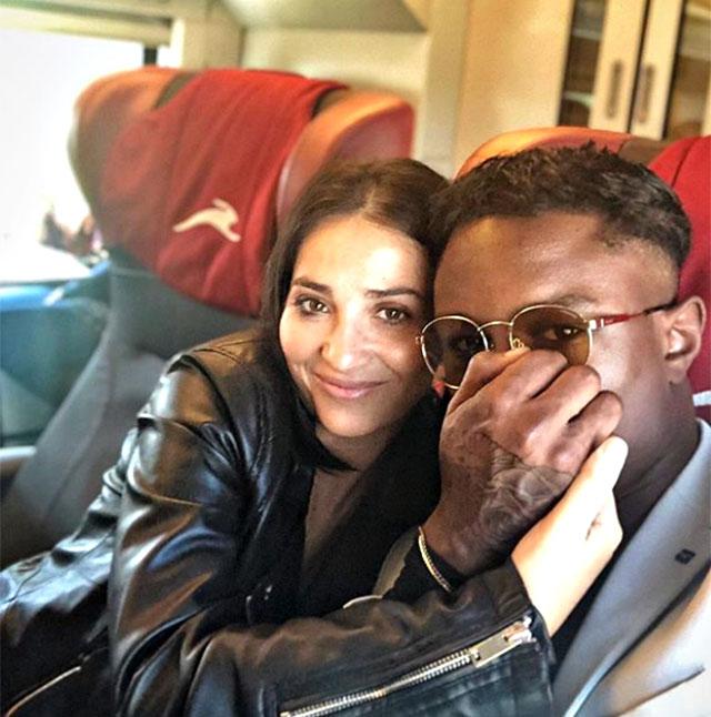 Serena Rutelli scherza con il fidanzato Prince Zorresi