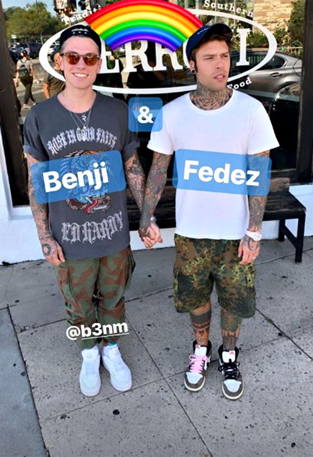 Benjamin Mascolo e Fedez