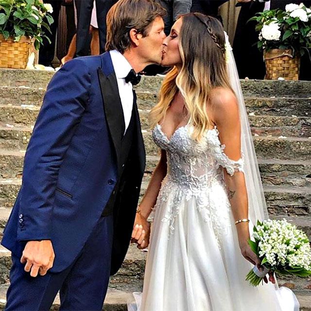 L'ex di Massimiliano Allegri ha sposato Filippo Braghieri