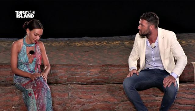 La novarese Cristina Incorvaia esce da Temptation Island con il suo David