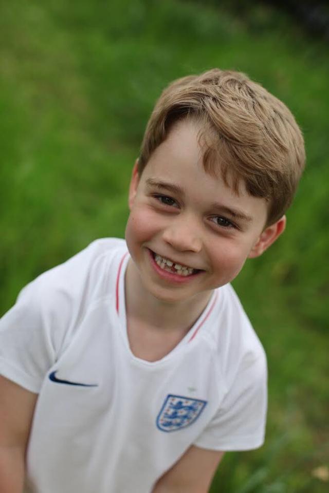 Il Principe George, nuove foto per i suoi sei anni