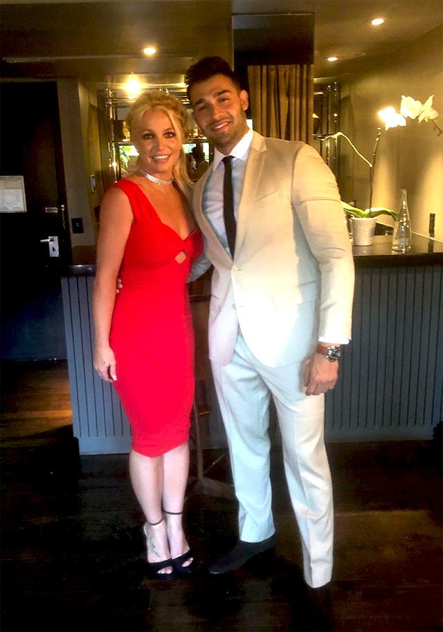 Britney Spears e il fidanzato Sam Asghari pronti per la premere del nuovo film di Tarantino