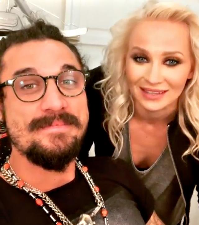 Veera Kinnunen col nuovo compagno Daniel Osvaldo, conosciuto a 'Ballando'
