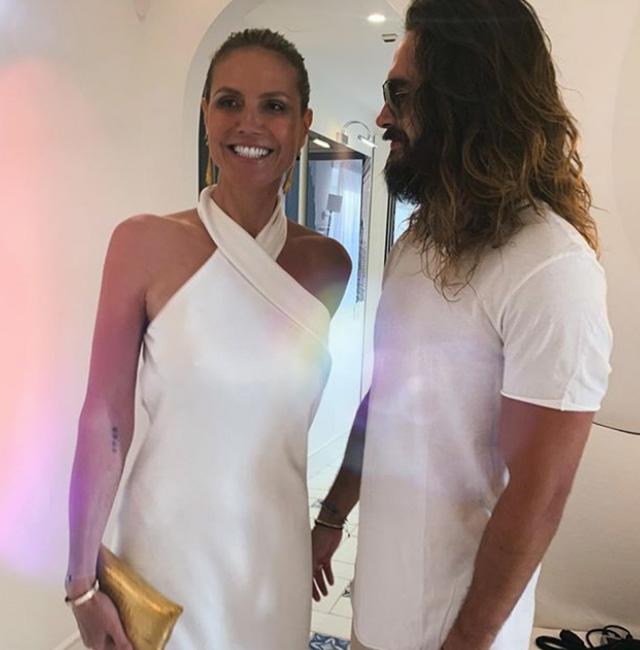 Hedi Klum e Tom Kaulitz: luna di miele a Capri