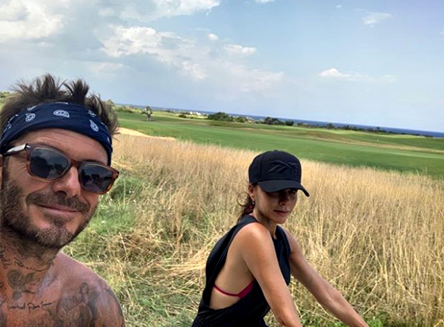 David Beckham ha scelto la Puglia per le vacanze