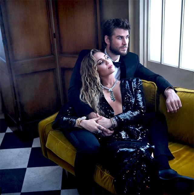 Miley Cyrus e Liam Hemsworth ai tempi del loro amore