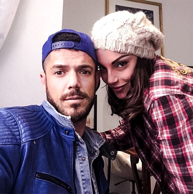 Giorgio Tambellini e Francesca De Andrè ai tempi della loro relazione. Ora potrebbero stare tornando insieme...