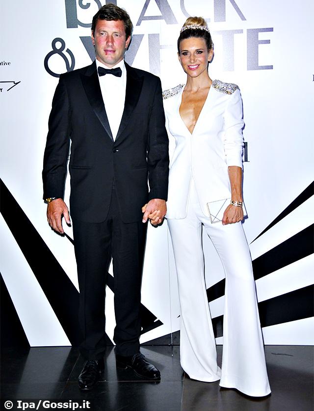 Nicoletta Romanoff e Federico Alvera a Venezia 2019