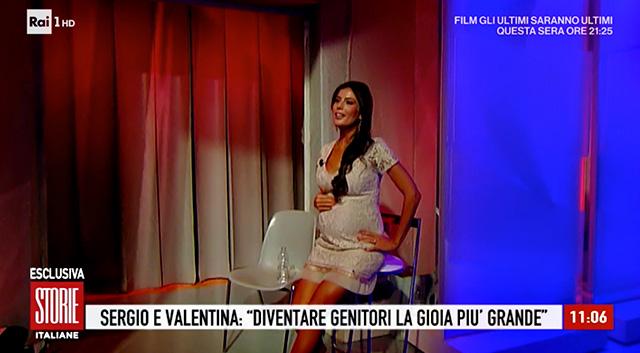 Valentina Donazzolo ha preferito alzarsi e andare dietro le quinte per riprendersi